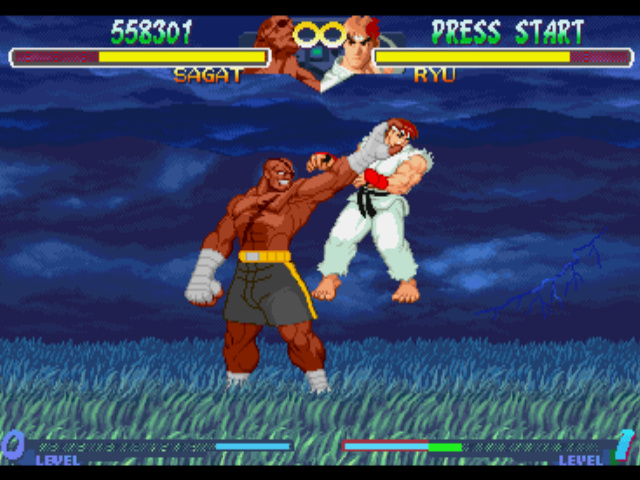 Street Fighter Alpha 2 Retro Gamesmaster